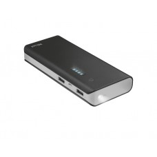 დამტენი: Trust Primo Powerbank 13.000 mAh Black - 21689