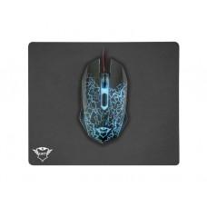 თაგვი-თაგვის პადი: Trust GXT 783 Izza Gaming Mouse & Mouse Pad - 22736