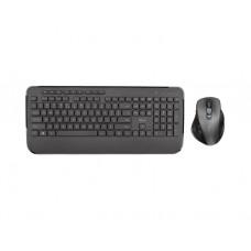 კლავიატურა-თაგვი უკაბელო: Trust Mezza Wireless Keyboard with mouse - 23185