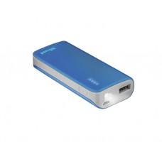 დამტენი: Trust Primo PowerBank 4400 Portable Charger Blue - 21225
