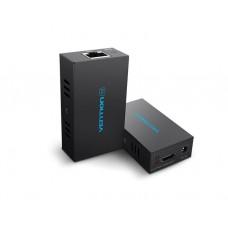 ადაპტერი: Vention AFIB0 HDMI Network Cable Extender Black