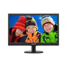 """მონიტორი: Philips 193V5LSB2/62 18.5"""" HD LED  5ms  700:1 200 cd/m²  VGA Black"""