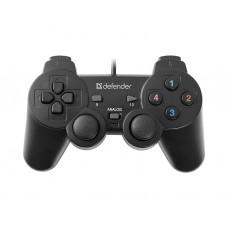სათამაშო პადი: Defender Omega 12 Button + 2 Analog  USB - 64247