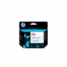 კარტრიჯი ჭავლური: HP 771 Black Light Gray Designjet Printhead - CE020A