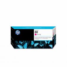 კარტრიჯი ჭავლური: HP 80 C4822A Printhead and Printhead Cleaner Magenta