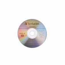 კომპაქტური დისკი: Verbatim DVD+R 16x 4.7Gb
