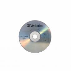 კომპაქტური დისკი: Verbatim DVD-RW 4x to 16x 120Min