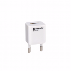 ადაპტერი: Defender EPA-01 5V/1A PB USB Adapter