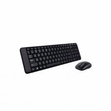 კლავიატურა-თაგვი უკაბელო: Logitech MK220 Wireless Touch USB
