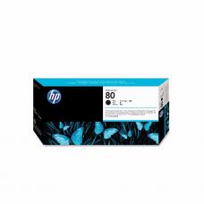 კარტრიჯი ჭავლური: HP 80 C4820A Printhead and Printhead Cleaner Black