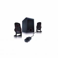 დინამიკი 2.1: Microlab M-111 2.1 Speakers 12W RMS(3Wx2+6W)Remote