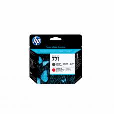 კარტრიჯი ჭავლური: HP 771 Matte Black and Chromatic RED Designjet Printhead - CE017A