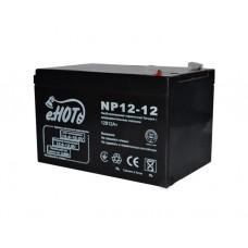 აკუმულატორი: ENOT NP12-12 Battery 12V 12Ah