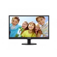 """მონიტორი: Philips 203V5LSB26/10  19.5""""  HD+  5ms  VGA  Black"""