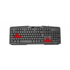 კლავიატურა: Trust Ziva Gaming Keyboard 22115