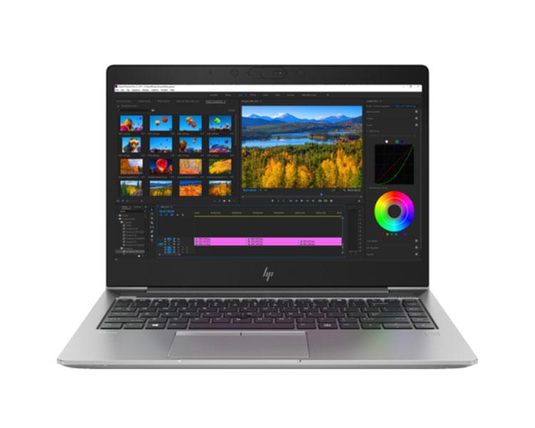"""ნოუთბუქი: HP Zbook 14u G5   14""""  FHD  Intel Core i7-8550U  8GB  512GB No ODD  Free DOS Silver - 2GY06AV"""