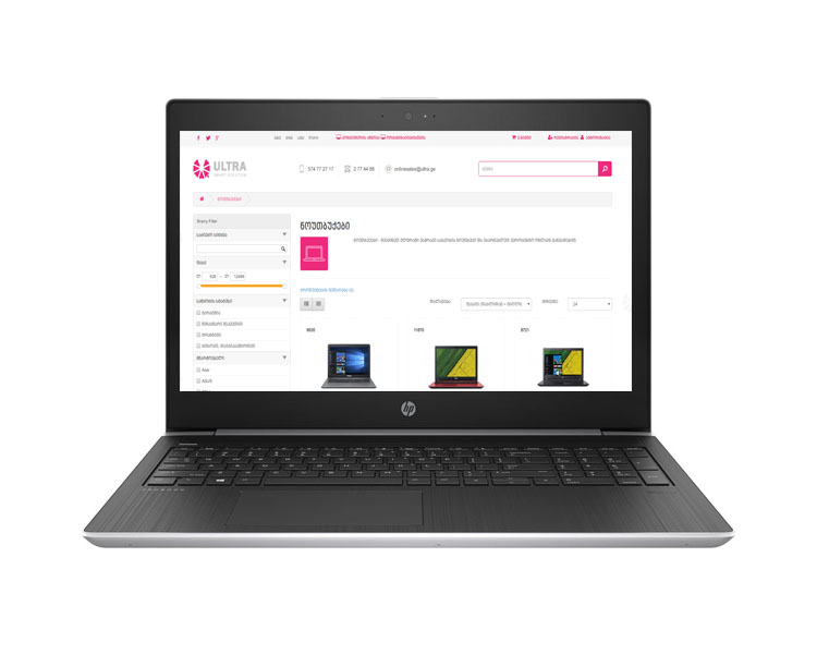"Notebook: HP Probook 450 G5 FHD 15.6"" Intel i7-8550U 8GB 1TB 930MX 2GB - 2RS08EA"