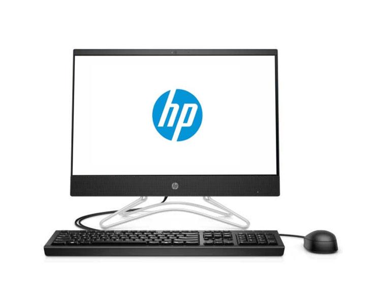 """All IN ONE კომპიუტერი: HP 200 G3 21.5"""" FHD Intel Core i3-8130u 4GB 500GB DVD Jet Black - 3VA61EA"""