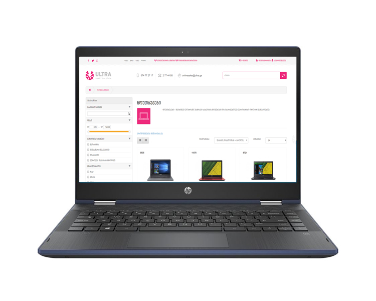 "Notebook: HP Pavilion 14 x360  14""  FHD  Touch  Intel  Core  i3-8130U    4GB   1TB  Win10  Home - 4GT11EA"