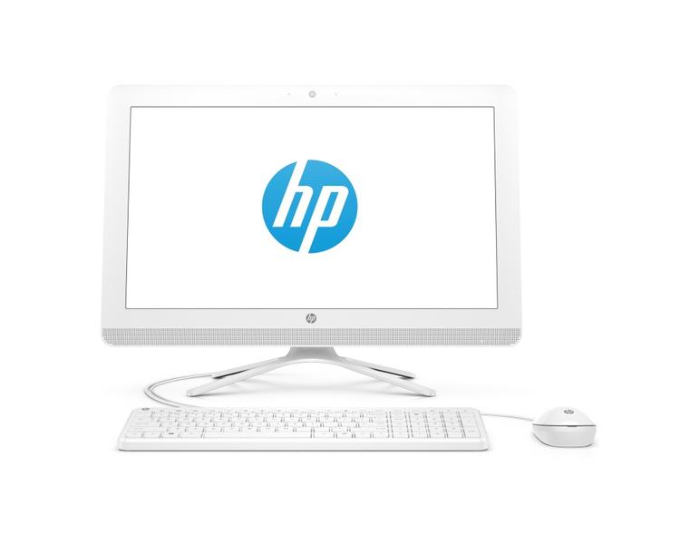 "ALL IN ONE კომპიუტერი: HP  22-c0009ur  21.5""   FHD  Intel  Celeron   J4005  4GB  500GB  DVD-RW  Free  DOS  Snow White - 4GV07EA"