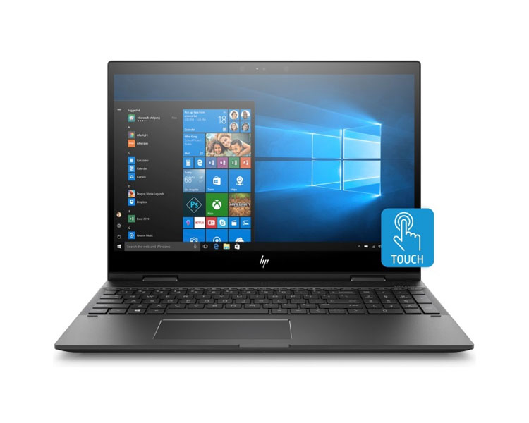 "Notebook: HP Envy 15 x360  15.6""  FHD Touch  AMD Ryzen  5 2500U  8GB   1TB + 128GB  Windows 10 Home   Dark Ash Silver - 4TU00EA"