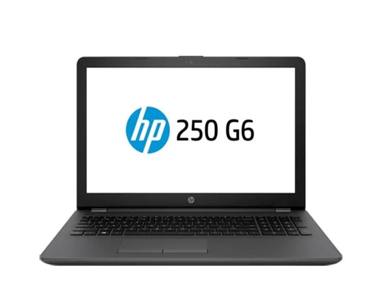 """ნოუთბუქი: HP 250  G6  15.6""""  HD  Intel Celeron  N4000   4GB  128GB   DVD-RW  Free DOS   Dark Ash Silver - 4WV09EA"""
