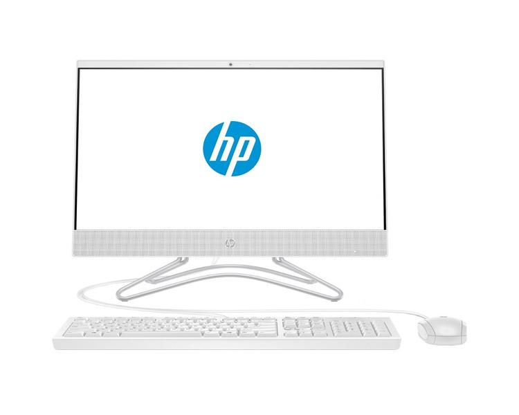 "ALL IN ONE კომპიუტერი: HP 200 G3   21.5""  FHD  4GB  500GB  Free DOS   Snow White - 4YW21ES"