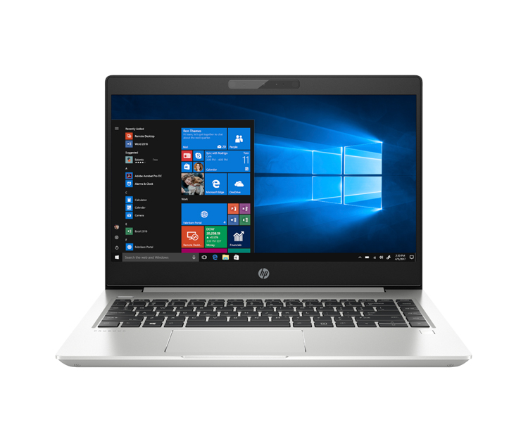 """ნოუთბუქი: HP  Probook 440 G6 14""""  FHD Intel Core  i3-8145U   4GB  500GB  No ODD Free DOS Silver - 5PQ26EA"""