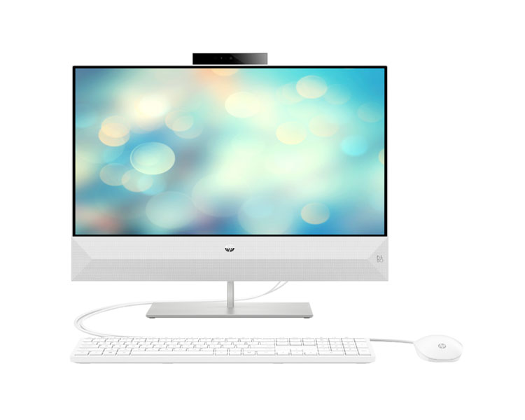 "All IN ONE Computer: HP Pavilion  24-xa0062ur  23.8""  FHD  Intel Core i3-9100T  4GB  1TB Free Dos  White - 7JU46EA"