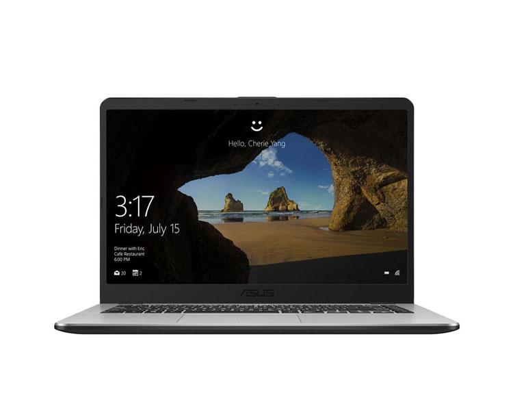 """ნოუთბუქი: Asus VivoBook  15.6""""  HD   AMD  Ryzen 5  2500U   8GB  1TB  No ODD Free DOS Dark Gray - 90NB0I12-M04280"""