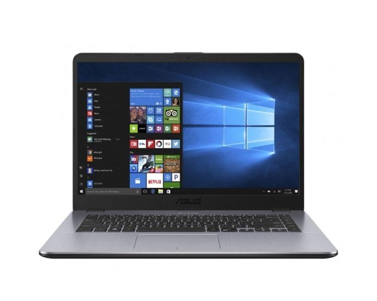 """ნოუთბუქი: Asus VivoBook X505ZA   15.6"""" HD  AMD  Ryzen 5 2500U  8GB  1TB  No ODD Free  DOS Gray - 90NB0I11-M07090"""