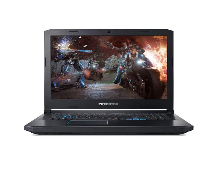 """: ACER Predator Helios 500 PH517-51-98V6  17.3""""  FHD Intel  Core  i9-8950HK   32GB  2TB + 512GB   GTX 1070  8GB No ODD Windows 10 Home Black - NH.Q3NER.011"""