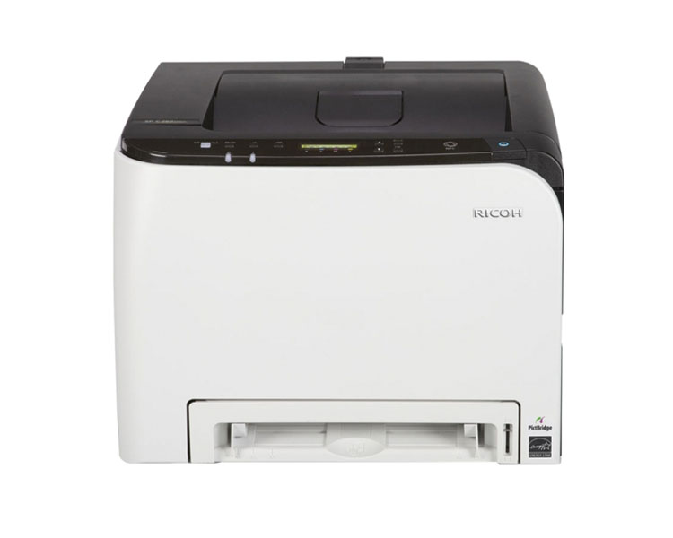 Printer: Ricoh SP C261DNw Color Laser Printer White