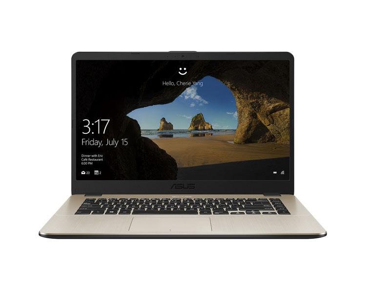 """ნოუთბუქი: Asus  VivoBook X505ZA   15.6""""  HD   AMD Ryzen 3  2200U   8GB   1TB  No ODD Free DOS Dark Gray - 90NB0I12-M04260"""