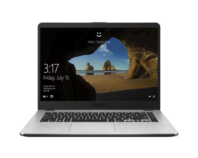 """ნოუთბუქი: Asus  VivoBook  X505ZA  15.6"""" HD  AMD Ryzen 3  2300U  8GB  1TB  No ODD Free DOS Gray - 90NB0I12-M04270"""