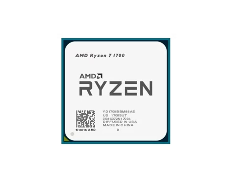 CPU: AMD Ryzen 7 1700 3GHz Turbo Boost 3.7GHz 16MB AM4