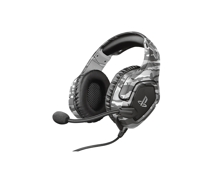 Headset: Trust GXT 488 Forze-G PS4 Gaming Headset PlayStation® official licensed product Grey - 23531