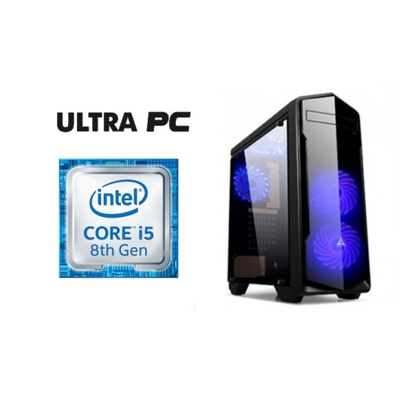 ULTRA PC Intel i5-8400 H310M-D 1TB 8GB GTX1050Ti 4G