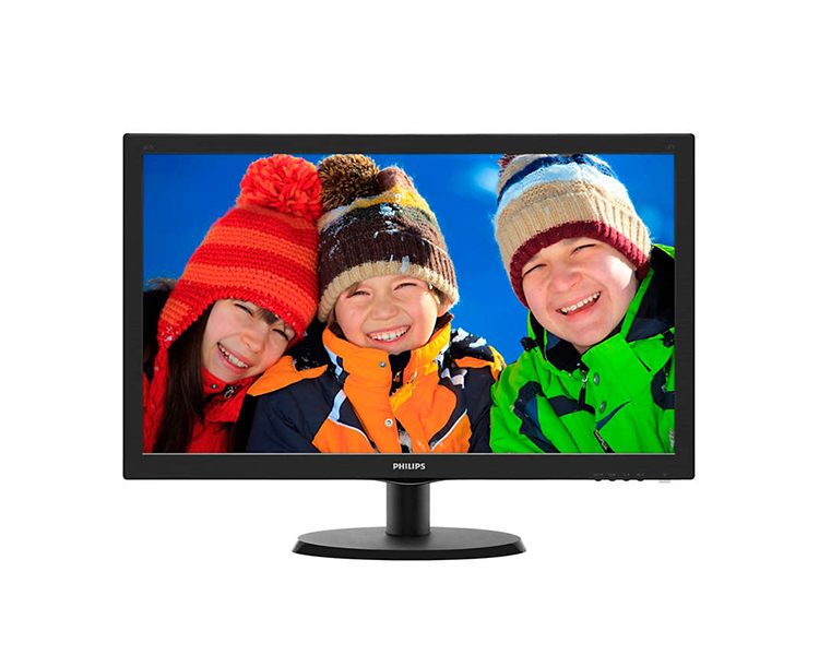 Monitor: Philips 223V5LSB / 62 21.5 'LED 1920 x 1080 Full HD 5ms 1000: 1 VGA