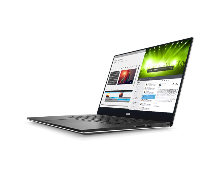 "Notebook: DELL XPS 15 (9560) Silver i7-7700HQ 15.6"" FHD (1920 x 1080) InfinityEdge 16GB 512GB SSD NVIDIA GeForce GTX 1050 4GB GDDR5 - 210-AKIF"