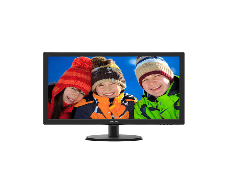 Monitor: Philips 223V5LHSB2 21.5 Full HD LED 5ms 600: 1 VGA HDMI