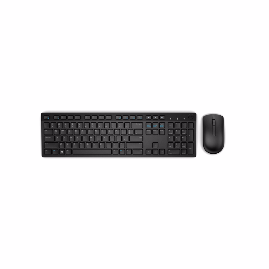 Keyboard-Mouse Wireless: Dell Russian (QWERTY) KM636 Wireless Multimedia Keyboard & Mouse