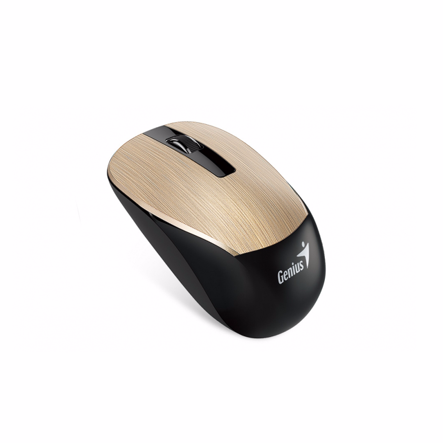 Wireless Mouse: Genius NX-7015 Wireless Mouse Gold