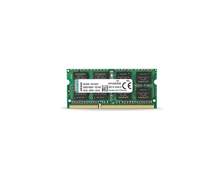RAM: Kingston DDR3 SODIMM 2GB 1333MHz