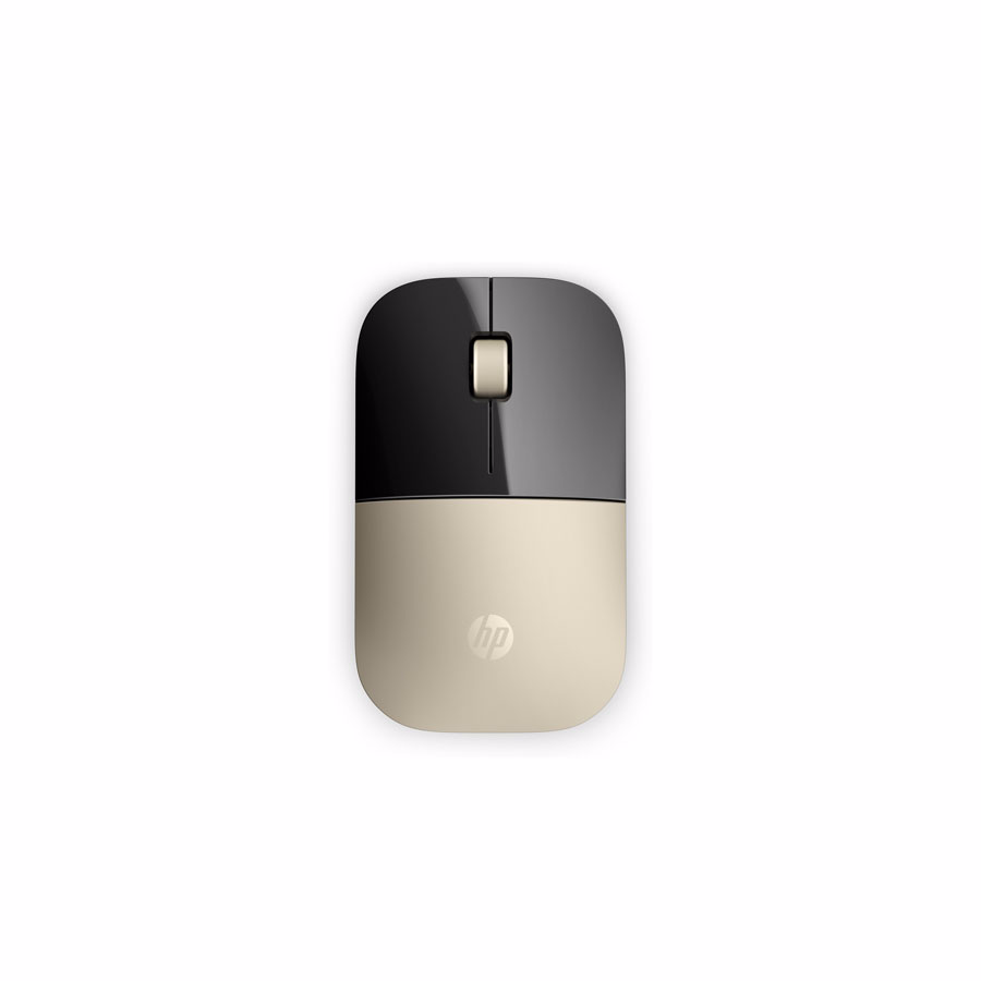 Mouse: HP Z3700 Wireless Mouse Gold X7Q43AA