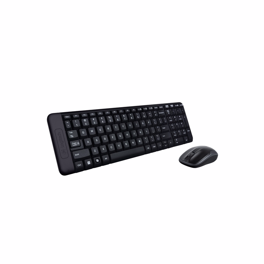 Keyboard-Mouse Wireless: Logitech MK220 Wireless Touch USB