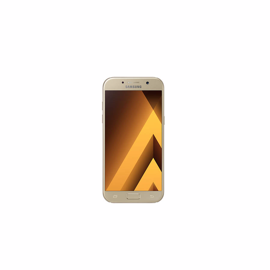 "Smartphone: Samsung A520F Galaxy A5 2017 LTE (4.5G) IP68 5.2"" Super AMOLED  3GB 32GB Duos Gold"