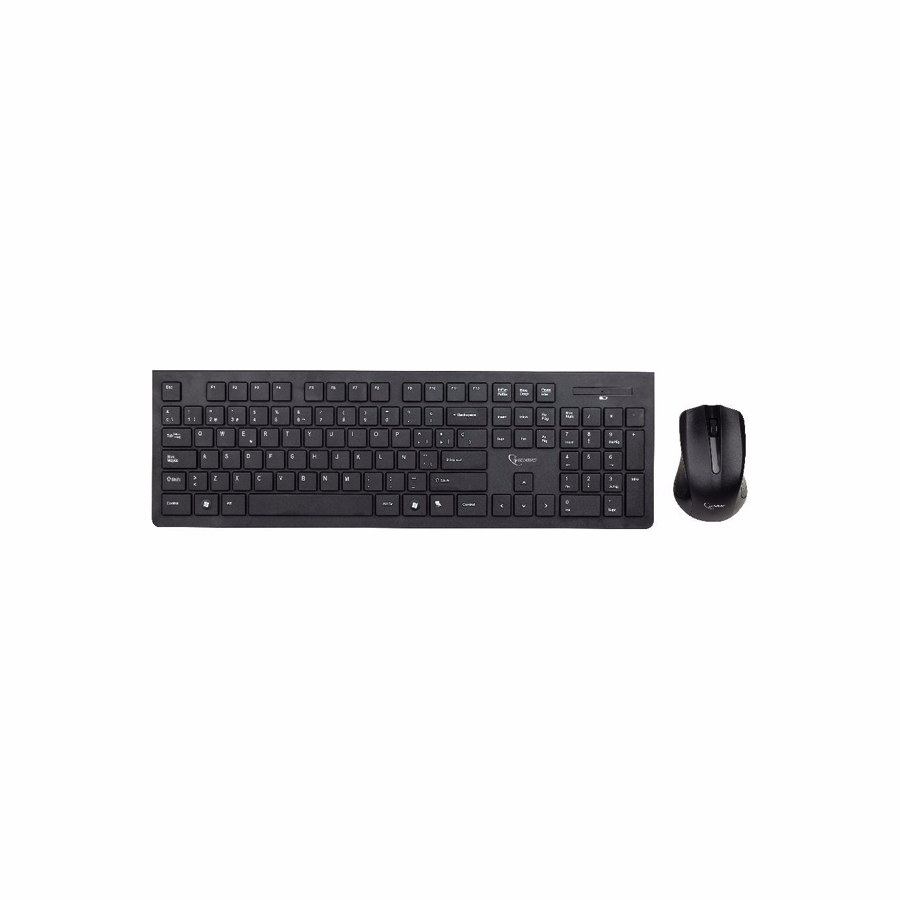 Wireless keyboard and mouse: Gembird KBS-WCH-01