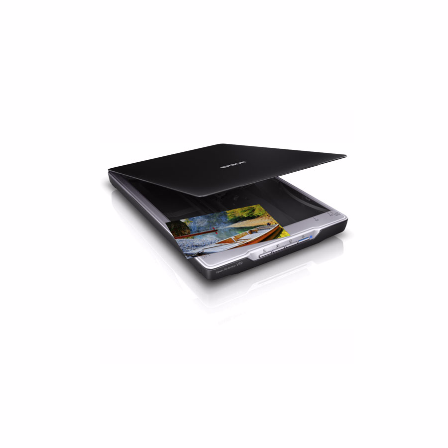 Scanner: Epson Perfection V19 Flatbed Color Scanner