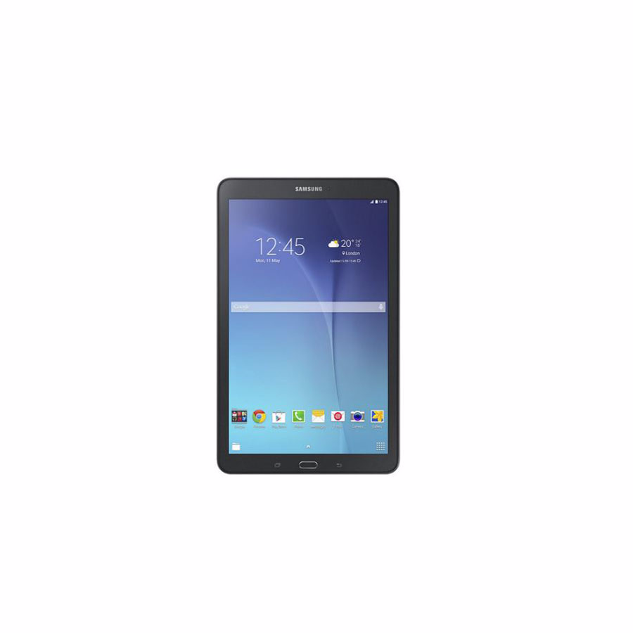 Tablet: Samsung SM-T561 Tab E 9.6 1.5GB 8GB 2MP 5MP 3G Metalic Black  - SM-T561NZKASER